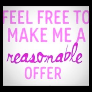 Make Me A Reasonable Offer! Bundle and Save!